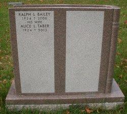 Alice Louise <i>Taber</i> Bailey