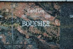 Carol Lou Louie <i>Jacobson</i> Boucher