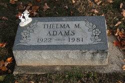 Thelma M. Adams