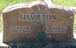 Nancy Jane Nannie <i>Thompson</i> Hamilton