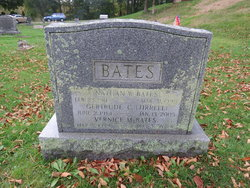 Gertrude C <i>Tirrell</i> Bates