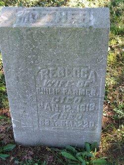 Rebecca <i>Rettinger</i> Parmer