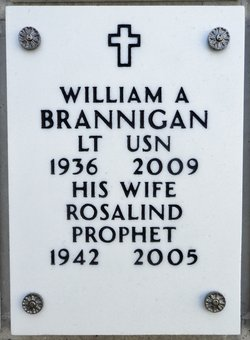 William Anthony Bill Brannigan