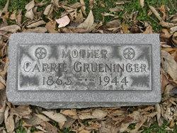 Carrie <i>Hagel</i> Grueninger