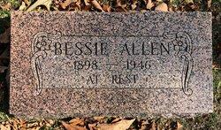 Bessie <i>Hooker</i> Allen