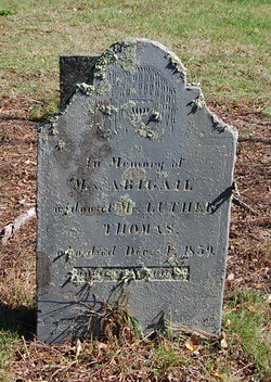 Abigail <i>Hewitt</i> Thomas