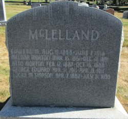 Melissa Evalina <i>Morton</i> McLelland