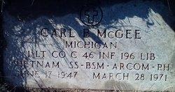 Lieut Carl Barry McGee