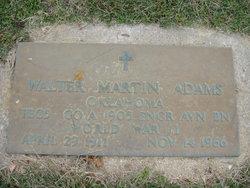Walter Martin Adams