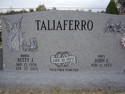 Betty Jo <i>Riggs</i> Taliaferro