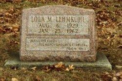 Lola Mae Curly <i>Vaughn</i> Lehmkuhl