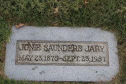 Joan Jonie <i>Saunders</i> Jary