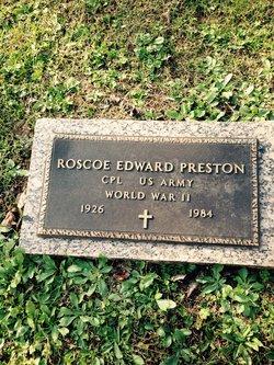 Roscoe Edward Preston