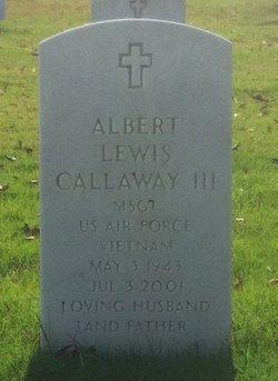 Albert Lewis Callaway, III