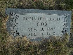 Rosie Lee <i>Pierce</i> Cox