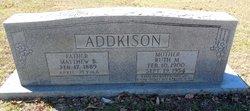 Ruth Mable <i>Edwards</i> Addkison