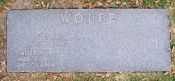 Edna Josephine <i>Meadows</i> Wolfe
