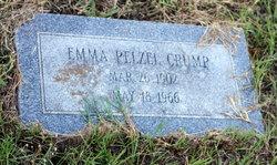 Emma <i>Pelzel</i> Crump