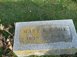 Mary Eliza <i>Baker</i> Cook