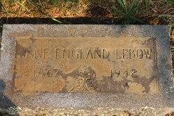 Eliza Jane Jane <i>England</i> Lebow