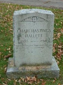 Chari <i>Hastings</i> Hallett