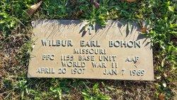 PFC Wilber Earl Bohon