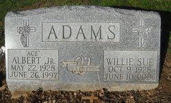 Willie Sue Margaret <i>Johnson</i> Adams