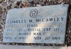 Charles M Charlie McCawley