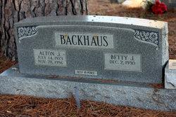 Alton J Backhaus