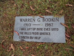 Warren Guy Bodkin, Jr