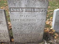 Anna <i>Hurlbut</i> Tice