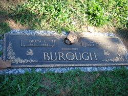 Greta Lillian <i>Burgeson</i> Burough
