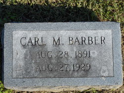 Carl McCarty Barber