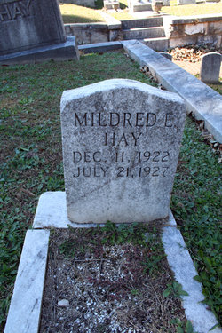 Mildred Hay
