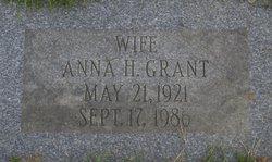 Anna H <i>Grant</i> Baker
