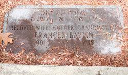 Frances <i>Stone</i> Baylin