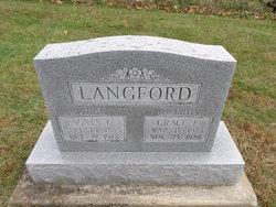 Agnes Claudia <i>Miller</i> Langford