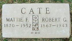 Martha F Mattie <i>Hudgins</i> Cate