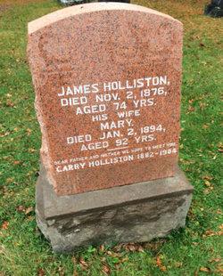 Mary <i>Wylie</i> Holliston