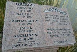 Zephaniah Azariah Griego