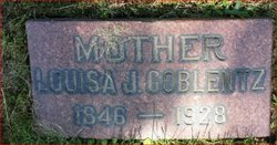 Louisa <i>Crumbaker</i> Coblentz