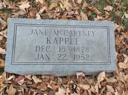 Jane <i>McCartney</i> Kapple