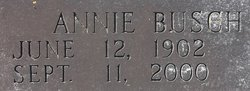 Annie <i>Busch</i> Arrington