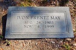 Ivon E. <i>Frentz</i> May