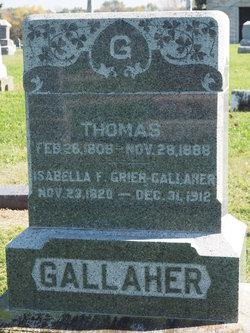 Isabella Frances <i>Grier</i> Gallaher