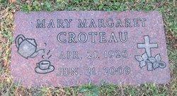 Mary Margaret <i>Hettinger</i> Croteau