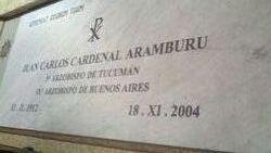 Cardinal Juan Carlos Aramburu