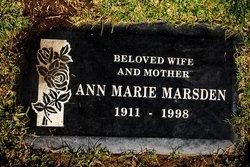 Ann Marie <i>Les'</i> Marsden