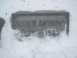 Alcie R. Anthony
