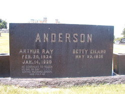 Betty <i>Eiland</i> Anderson